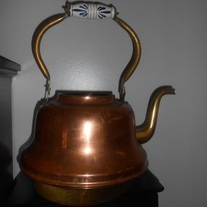 giant 16'' copper teapot